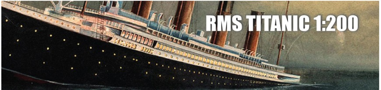 RMS Titanic 1:200