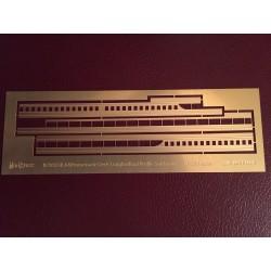 250 SDB A & Promenade Deck longitudinal profiles