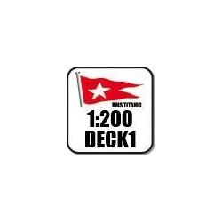 200DECK1 Pack des éléments des ponts supérieurs Part1