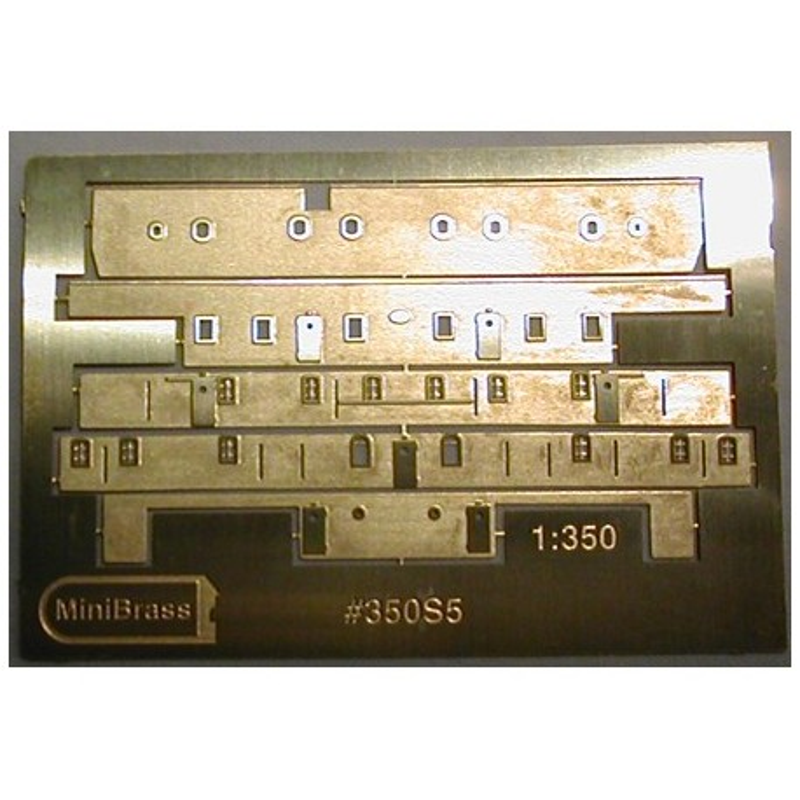 350S5 B & C decks