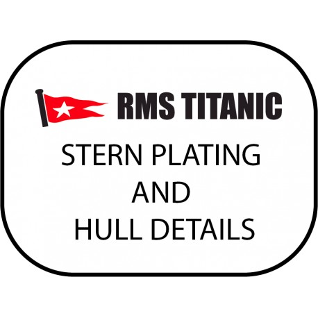 200STERNHD Stern plating and hull details